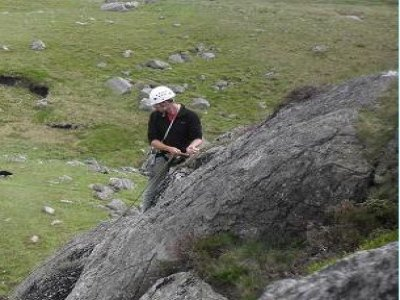 Full Day Climbing and Abseiling Cumbria