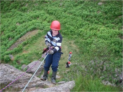 Plas Gwynant Outdoor Education Centre Abseiling