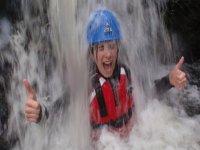 Ok on the waterfall