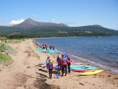 Arran Adventure Company Kayaking