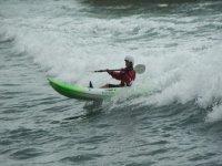 Kayak Surfing.