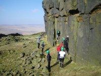 Exhilarating climb