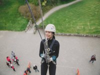 Abseiling at the Castle