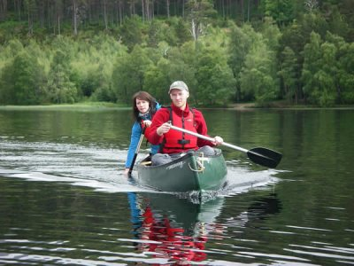 Cairngorm Bike & Hike Canoeing