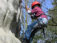 Climbing and Abseiling on our purpose built facility
