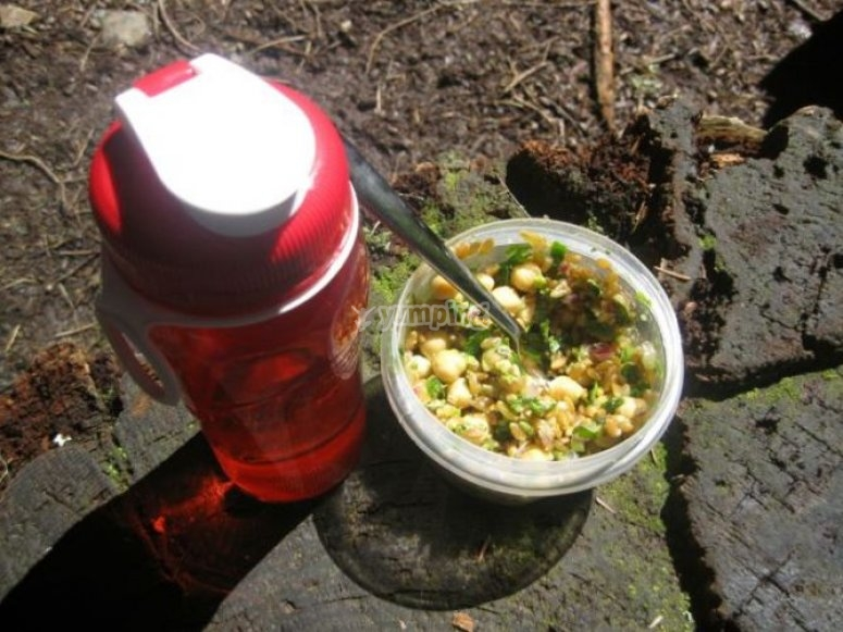 Nutrition tips for hiking and walking
