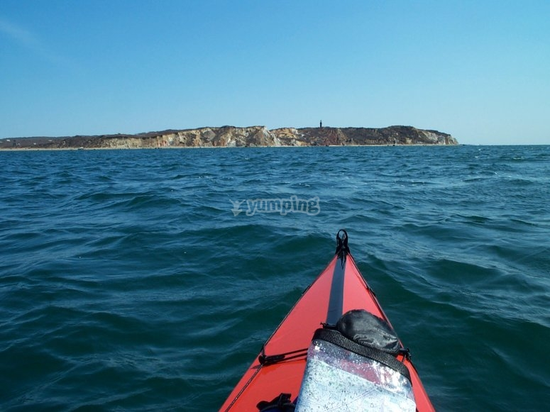 Coastal kayaking