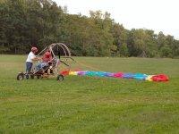 Powered parachute layout