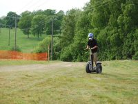 Segway in the woods