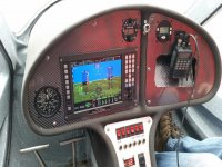 The interior of one of our aircrafts at Cloudbase Aviation