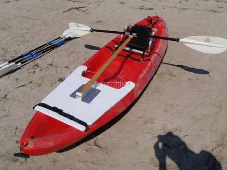 Paddler holder
