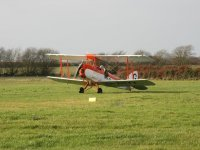 One of our aircraft at Eaglescott Airfield Gliding