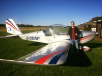 Practice with Eaglescott Airfield Gliding