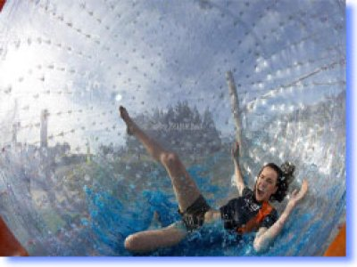 What is Zorbing?