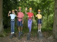 High ropes give people a great sense of achievement.