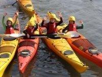 Junior kayaking
