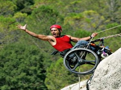 Climbing and Abseiling for Disabilities