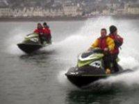 Exhilarating jet skiing