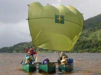 Canoeing rigg