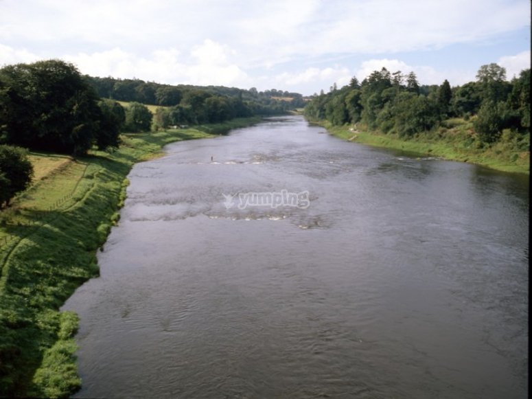 The grand River Tay
