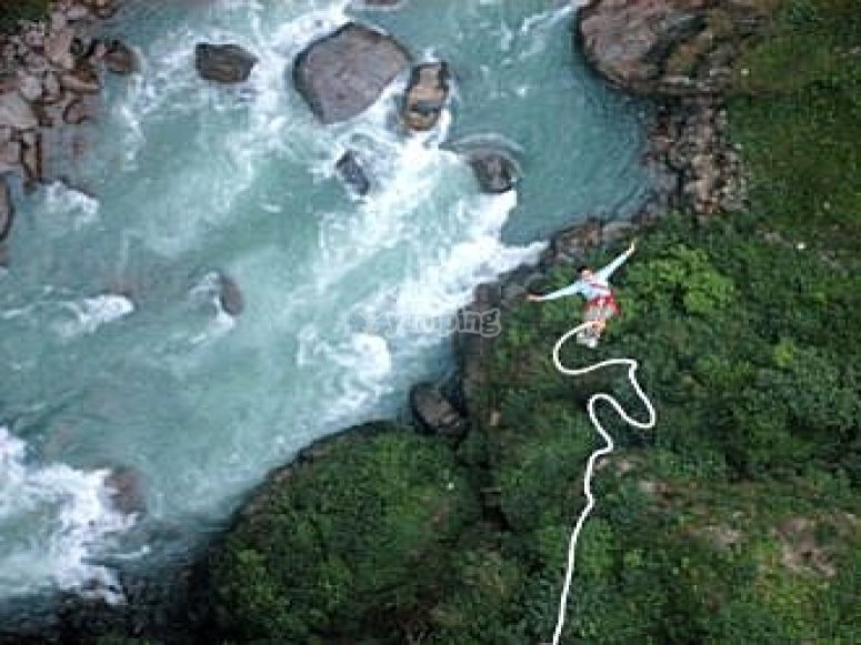 What does it feel like to Bungee Jump?