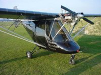 Beautiful aircrafts in Wiltshire Microlight Centre