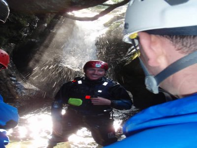 Mountains to Water Canyoning