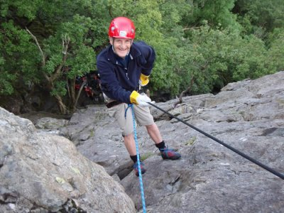 Mountains to Water Abseiling