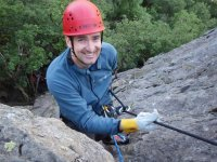 Abseiling ...with a smile!