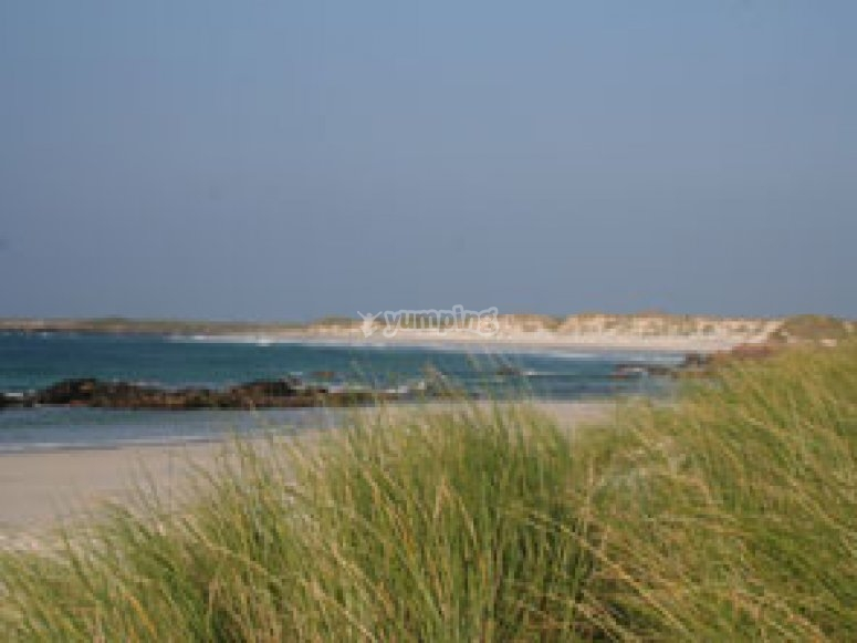 One of Island of Tiree´s beaches
