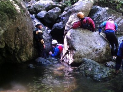 Activities in Snowdonia Canyoning