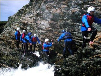 Activities in Snowdonia Coasteering