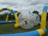 Zorbing is awesome.