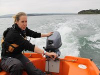 Getting a feel for the outboard