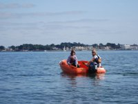 Powerboating in  Poole