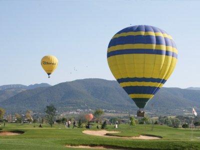 Exclusive flight along Montseny, Barcelona