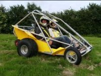 A buggy all set for action