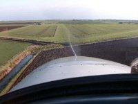 Approaching the runway