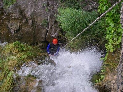 Canyoning in Muntanyes de Prades (Tarragona)