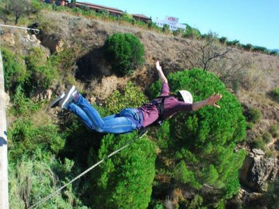 Double Bungee Jumping in S. Sadurní d'Anoia