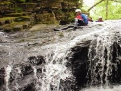 Up 4 It Outdoors Mentro Mor A Mynydd Canyoning