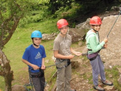Up 4 It Outdoors Mentro Mor A Mynydd Abseiling