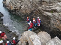 Canyoning tour with family