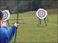 Archery in the Cambridge countryside