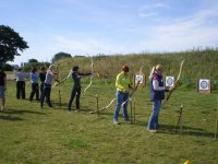 Great group archery session