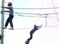 high ropes trapeze