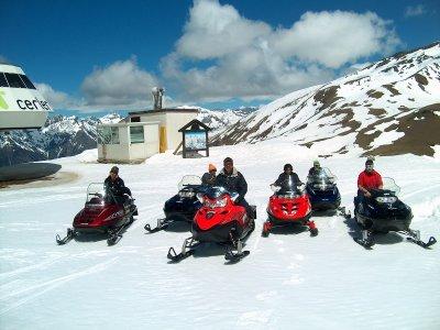 1-Hour One-Seater Snowmobile, Cerler Circuit