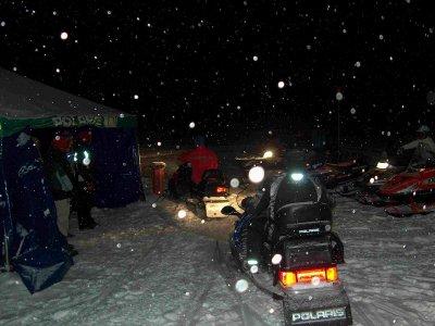 Night Trip + Single Snowmobile + Dinner, Cerler
