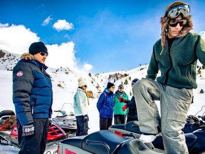 Individual Snowmobile ride in Cerler
