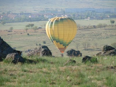 Hot Air Balloon Ride in Madrid + Brunch + DVD